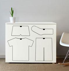 Cool dresser for kids. #dresser #house #kids