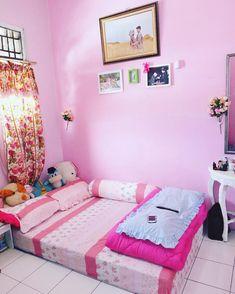 Desain R Tidur Anak Remaja Perempuan Modern Warna Pink Check More At Http