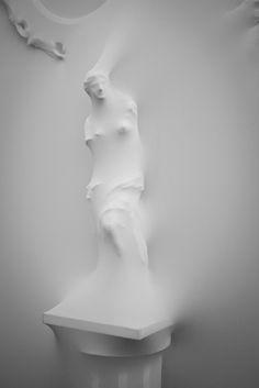 Aphrodite of Milos in Jean Paul Gaultier's studio by Rianne Makkink and Jurgen Bey, aka Studio Makkink and Bey.