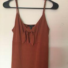 Forever 21 Dresses | Poshmark Burnt Orange Bridesmaid Dresses, Cute Maxi Dress, Forever 21 Dresses, Orange Color, Camisole Top, Tank Tops, Fashion, Moda, Halter Tops