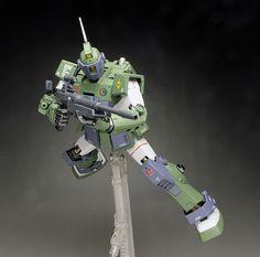 [WORK REVIEW] MG 1/100 RGN-79SC GM SNIPER CUSTOM [MS Gundam MSV Series] painted build | GUNJAP