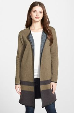 NIC+ZOE 'Daybreak Dreams' Reversible Sweater Jacket available at #Nordstrom