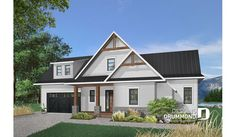 Discover the plan (Bonavista) which will please you for its 4 bedrooms and for its Cottage, chalet, cabin styles. Rustic Lake Houses, Rustic House Plans, Lake House Plans, House Plans And More, Cottage House Plans, Best House Plans, House Floor Plans, Farm House, Master Suite
