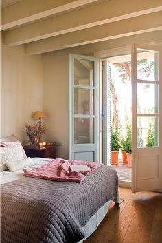 Habitación puertas exterior