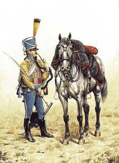 Ussaro del 9 rgt. ussari francese