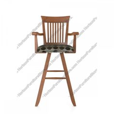 Canadel Custom Dining Swivel Bar Stool with Arms - STO 3528
