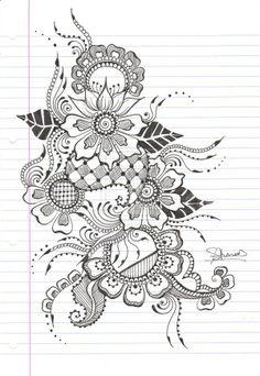 Ahhhh I love henna designs I wanna cover my body in henna designs!