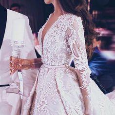 #fashion #style #dress #wedding #weddingideas #weddingday #weddingdresses #bridetobe #bride #brides #dreamwedding #overskirt #gems #beads #MiddleEast #middleeasternfashion #middleeasternwedding