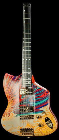 """Vice """"Isleen"""" Vius headless Guitar --- made in Munich, Germany."""