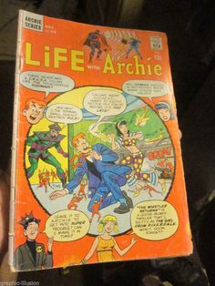 Archie & Me #4 G Silver Age 1965+ LIFE WITH ARCHIE #55 G 166 TWO COMICS 1stPRINT