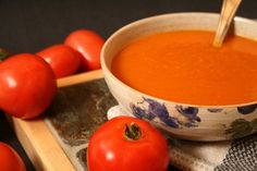 Marinara Soup - good way to use up our garden tomatoes.