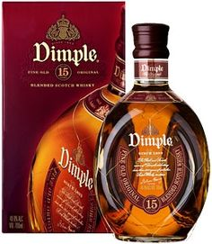 "Dimple Scotch Whisky 15 Y.O. ""Dimple was first produced in 1888 by John Aloysius Haig. It is the fourth most popular Blended Deluxe Scotch worldwide. Dimple Blended Scotch Whisky contains a high percentage of malt whiskies including Glenkinchie and Linkwood."" #Sharab #Whiskey #Alcohol"
