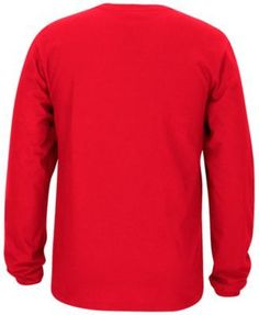 adidas Men's Portland Trail Blazers Rep Big Long Sleeve T-Shirt - Red XXL