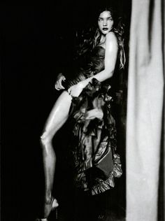 """Natalia Vodianova  by Paolo Roversi  for Vogue Italia, 2004 in """"A Girl of Singular Beauty"""""""