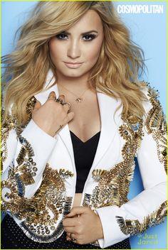 Demi Lovato Covers 'Cosmopolitan' August 2013 | demi lovato covers cosmopolitan august 2013 02 - Photo