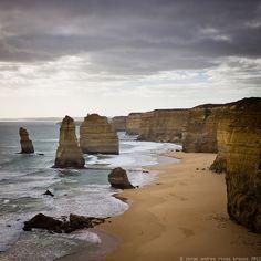 ::jark:: | 12 apostles | seascape landscape + ocean beach australia victoria brown tan grey white blue