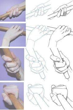 Drawing Poses Reference Hand Holding 51 Ideas Drawing Poses Re. Drawing Lessons, Drawing Techniques, Drawing Tips, Drawing Hands, Hand Drawing Reference, Art Reference Poses, Main Manga, Art Sketches, Art Drawings