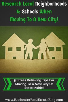 Research Local Neighborhoods - http://www.rochesterrealestateblog.com/five-stress-relieving-tips-for-moving-new-city-state/ via @KyleHiscockRE
