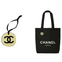 Chanel With Plastic Cc Logo Charm Tote Bag. Get one of the hottest styles of the season! The Chanel With Plastic Cc Logo Charm Tote Bag is a top 10 member favorite on Tradesy. Save on yours before they're sold out!