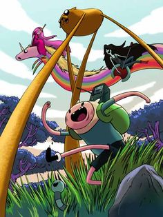 Adventure time low perspective