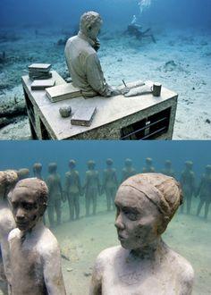 Jason de Caires Taylor, underwater sculptures