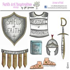These versatile stamps will be reached for time and time again in your Bible Journaling, and would also work well with Project Life, Documented