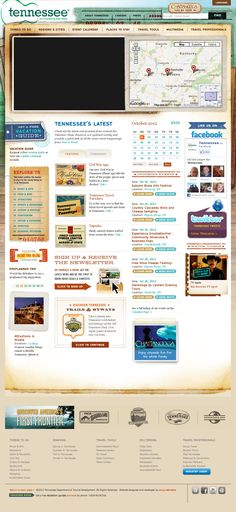 #website #design WOW VERY COOL FEATURES! Love the calendar and events list with invite tabs.