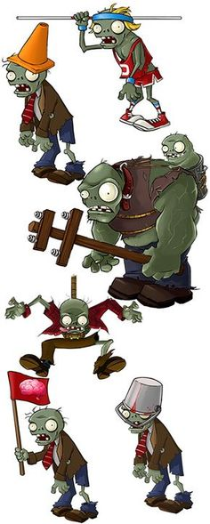 Plants vs zombies Zombies art the bucket head zombie one cracks me up. He clearly has one tooth Hayden lost one tooth in a bucket accident this zombie was after him :) Plants Vs Zombies, Zombies Vs, Arte Zombie, Zombie Art, Lost First Tooth, Plantas Versus Zombies, P Vs Z, Zombie Birthday Parties, Ideas Para Fiestas