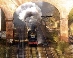 /by Ron.i.H #flickr #steam #engine