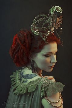 La Dutchessa and Sheridan's Art - Somnia Romantica by Marjolein Turin - fashion inspired by history
