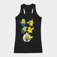 Pikaminion Fusion Womens Tank Top