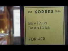 Korres Baunilha ( primeiras impressões)