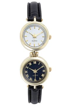 Free shipping and returns on Titanium Two Face Watch, 20mm (Juniors) at Nordstrom.com. Two watch faces offer stylish versatility with jetsetting attitude.