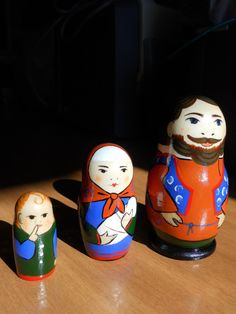 Autentic Collectible Russian Matryoshka. by raskinfamilyworkshop