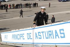"Farewell ceremony of the aircraft carrier ""Principe de Asturias""  Naval Base Rota (Cádiz), 02/06/2013"