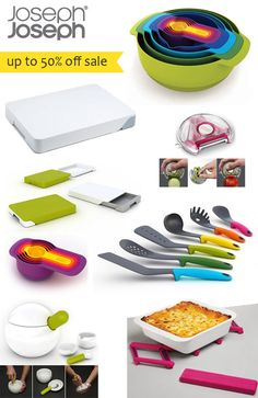Up To 50% Off Clearance Sale On Joseph Joseph Designer Kitchen & Table Wares at Shop Naturally
