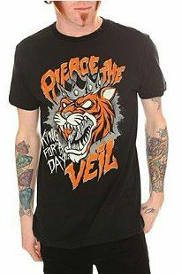 "Pierce the Veil ""King for a Day"" shirt from Hot Topic"