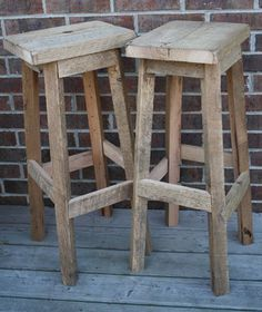 Six Awesome Rustic Bar Stools You Need to See