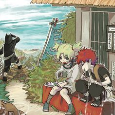Gaara, Temari and Kankuro