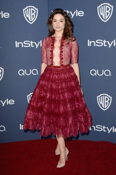 Crystal Reed - 2014 InStyle and Warner Bros. Golden Globe Awards Post-Party (Jan. 12)
