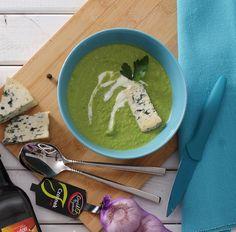 Velouté zupa z zielonego groszku #intermarche #inspiracje #TydzienFrancuski #zupa #groszek #SmakiFrancji Japanese, Ethnic Recipes, Food, Japanese Language, Essen, Meals, Yemek, Eten