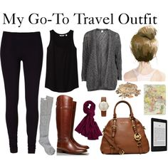 """Travel Essentials"" by diamte on Polyvore"