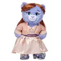 16 Inches Build A Bear Workshop Timeless Teddy First Christmas Girl Gift Set