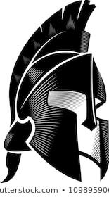 Spartan Helm Calligraphic Angled View Spartan Logo, Spartan Tattoo, Spartan Helmet, Spartan Warrior, Tattoo Drawings, Body Art Tattoos, Tatoos, Warrior Tattoos, 3d Cnc