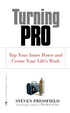 Turning Pro: Tap Your Inner Power and Create Your Life's Work by Steven Pressfield http://www.amazon.co.uk/dp/1936891034/ref=cm_sw_r_pi_dp_24pyvb1ZYEZJ6