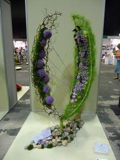 Floral art...Marie Francoise  Deprez