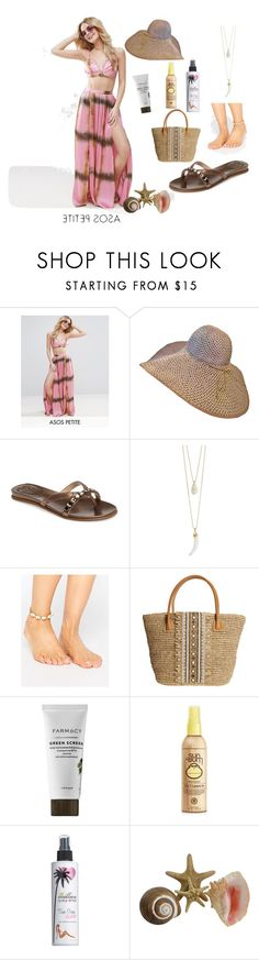 """""""#islandgetaway"""" by effortless-and-natural ❤ liked on Polyvore featuring ASOS, Vince Camuto, Orelia, Skemo, Forever 21 and Million Dollar Tan"""