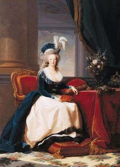 Marie Antoinette, Queen Consort of France; by Elisabeth-Louise Vigee-Lebrun, c. Wife of King Louis XVI of France. Louis Xvi, French History, Art History, Marie Antoinette, French Royalty, 18th Century Fashion, 17th Century, Elisabeth, Ludwig