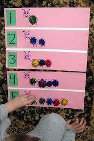 5 Fun Counting Activities For Spring Pinterest Preschool Summer
