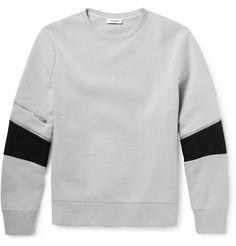 Tim Coppens - Cotton-Blend Piqué Sweatshirt|MR PORTER